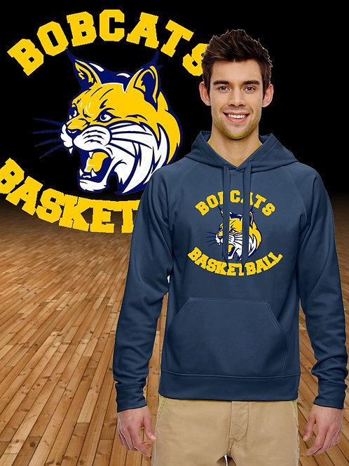 Bobcats Basketball Logo Performance Hoodie