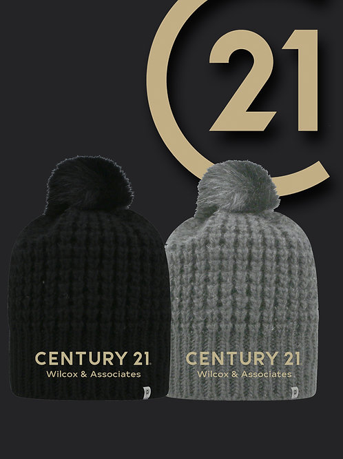 Century 21 Slouch Bunny Knit Hat