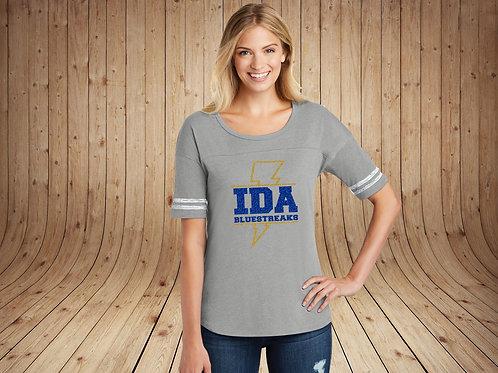 IDA Spirit - Women's Glitter Scorecard Tee