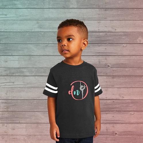 Dance Nation - Toddler Football Fine Jersey Tee