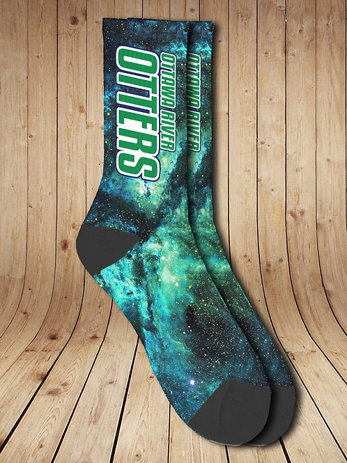 Ottawa River Galaxy Socks