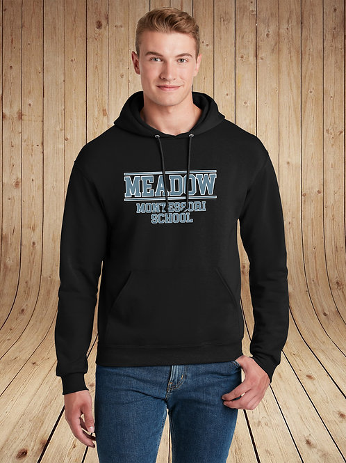 Meadow Montessori - Hoodie - Collegiate Logo
