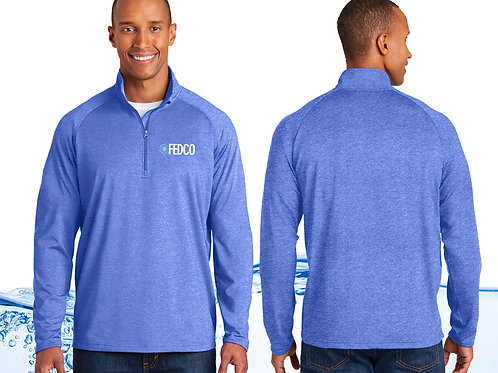 Men's Quarter Zip Stretch Pullover