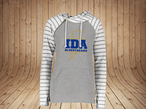 IDA Spirit -Ladies Glitter Stripe Double Hood