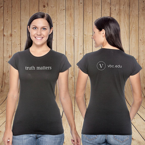 Ladies Truth Matters Tee