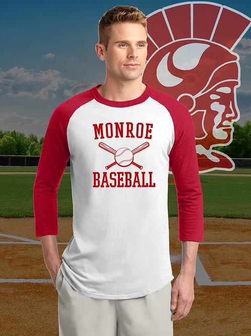 MHS Baseball - Raglan T-Shirt