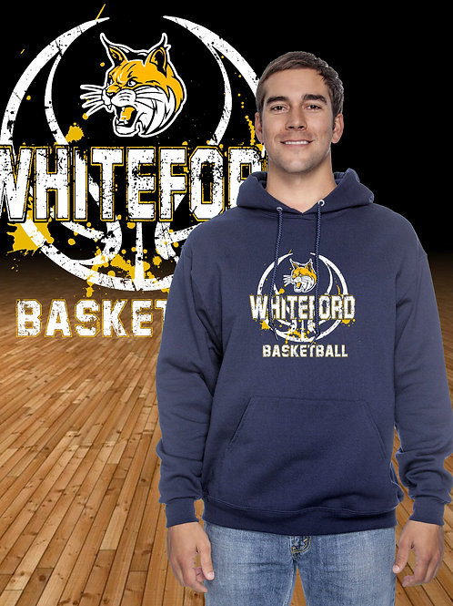 Distressed Whiteford Logo Hoodie