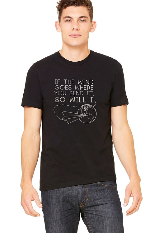 If the Wind Goes - Airplane - Metallic Logo