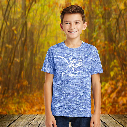 Youth Electric Heather Performance Tee
