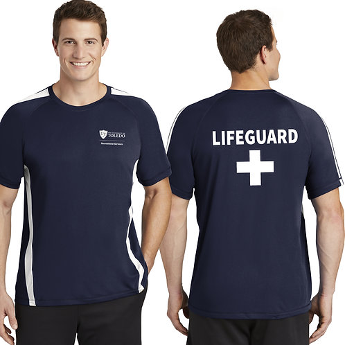 UT Rec - Colorblock Lifeguard Tee