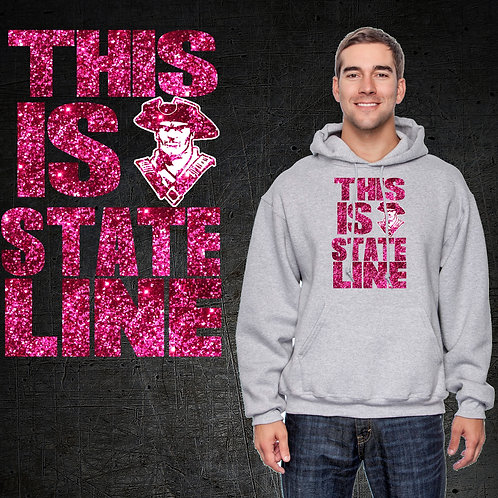 This Is State Line GLITTER Hoodie