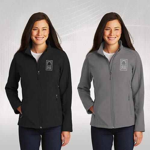 Selah's Center of Hope - Ladies Softshell Jacket