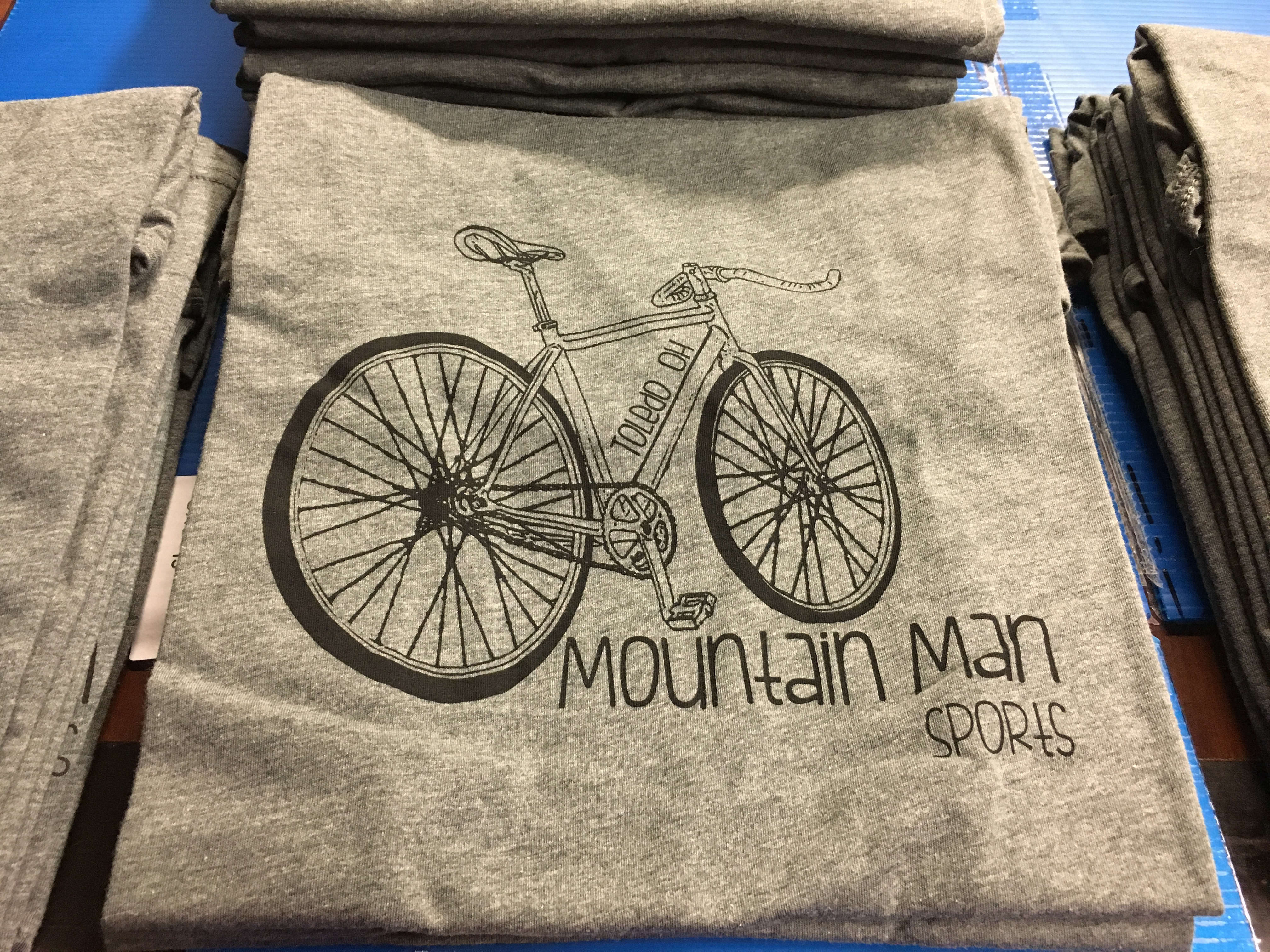 MM Bike Tee Gray