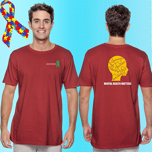 Extended Size 8 CAP Mental Health Matters Tee