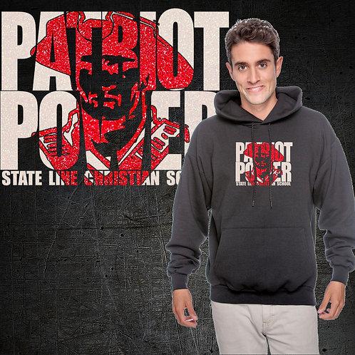 Patriot Power GLITTER Hoodie