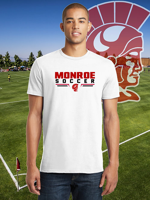 Monroe Soccer - Ringspun T-Shirt