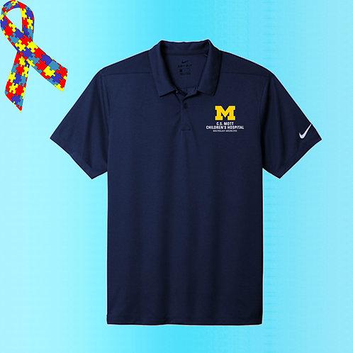 Men's Nike Embroidered C.S. Mott Childrens Hospital Polo