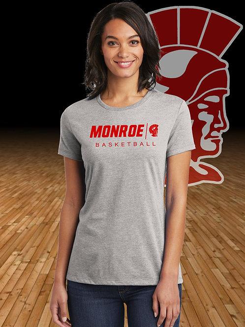 Ladies Monroe Basketball Concert T-Shirt