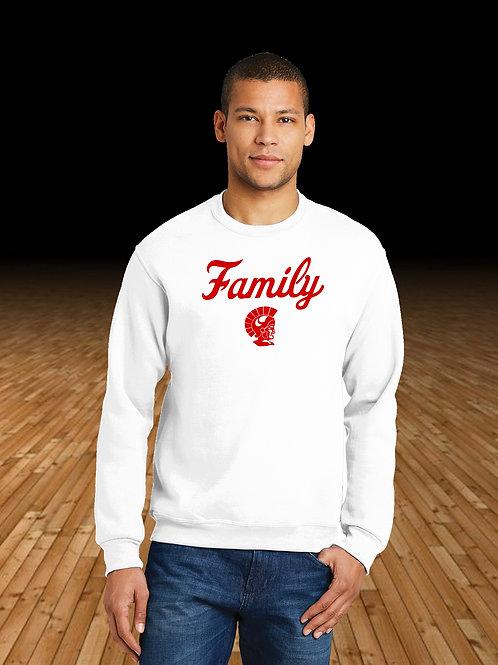 Monroe Basketball Family Logo Crewneck