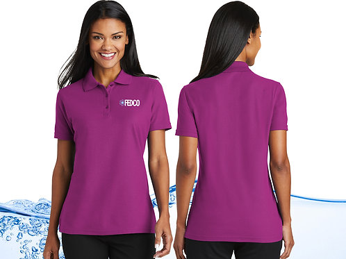 Ladies FEDCO Stain Release Polo