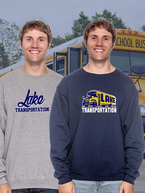 Lake Transportation Creneck Sweatshirt