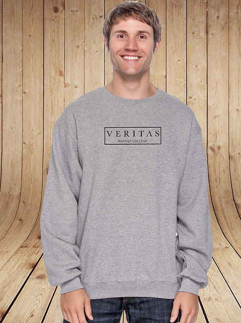 Veritas Box Logo Crew Neck Fleece