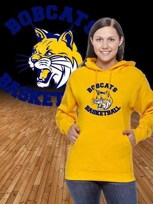 Bobcats Basketball Logo Hoodie