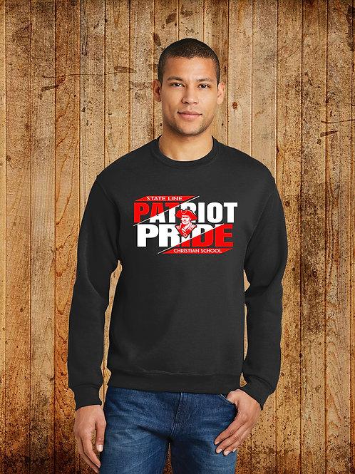 SLCS Spirit - Patriot Pride Logo Crewneck Sweatshirt