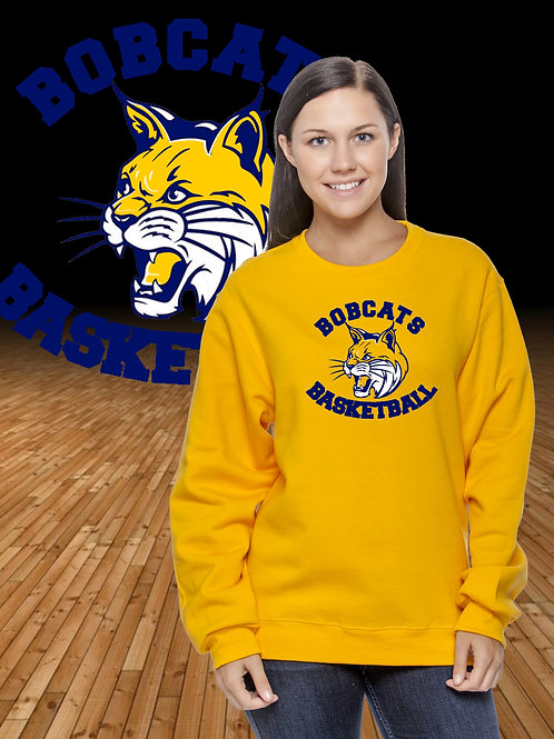 Basketball Logo Crewneck Sweatshirt