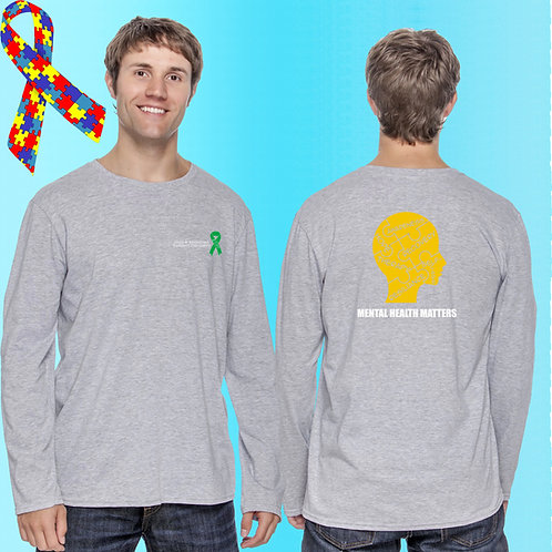 8 CAP Mental Health Matters Long Sleeve Tee