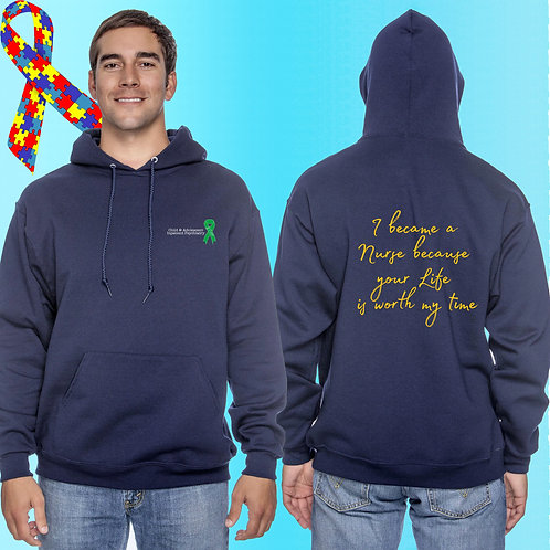 Extended Size 8 CAP I Became a Nurse Hoodie
