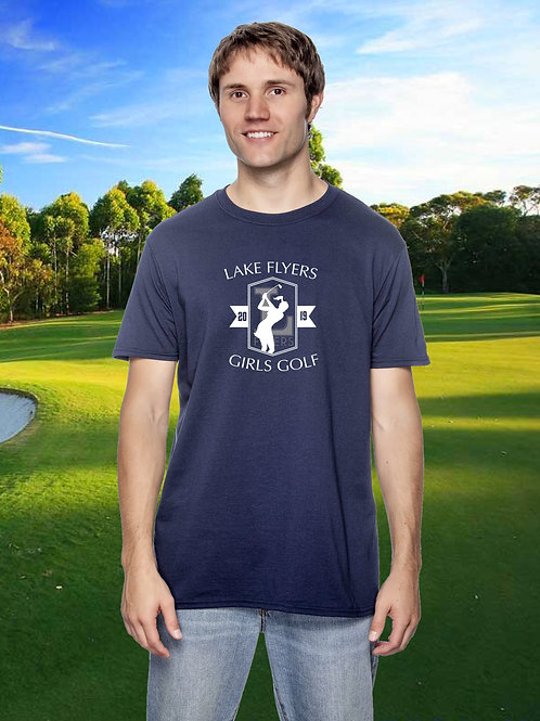 Lake Flyers Girls Golf - Unisex Tee