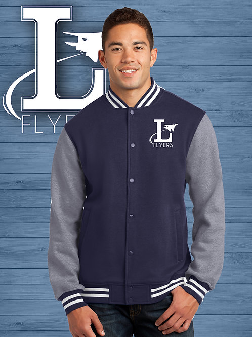Flyers Fleece Letterman Jacket