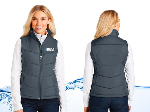 Ladies Fedco Puffy Vest