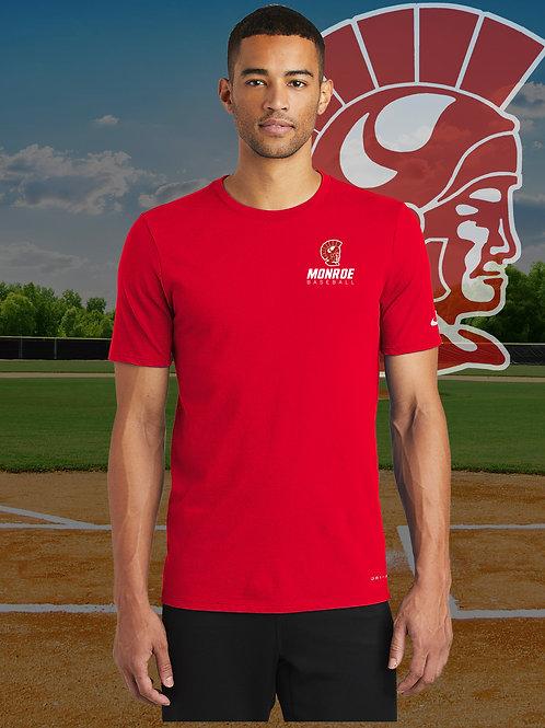 MHS Baseball - Nike Dri-FIT Cotton/Poly Tee