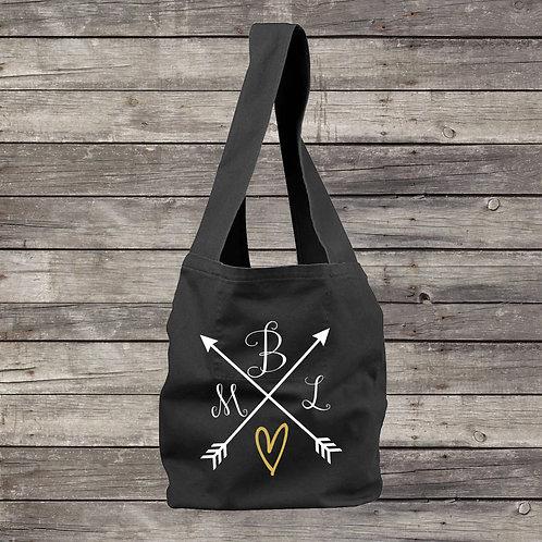 Monogramed Sling Bag