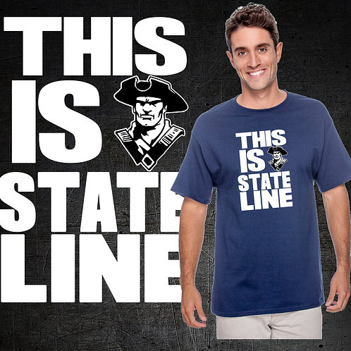 This Is State Line Tee