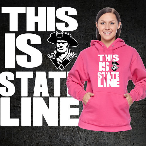 This Is State Line Hoodie