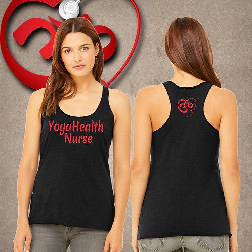 YogaHealth Nurse Racer Tank