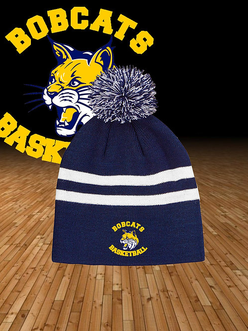 Embroidered Team Pom Hat