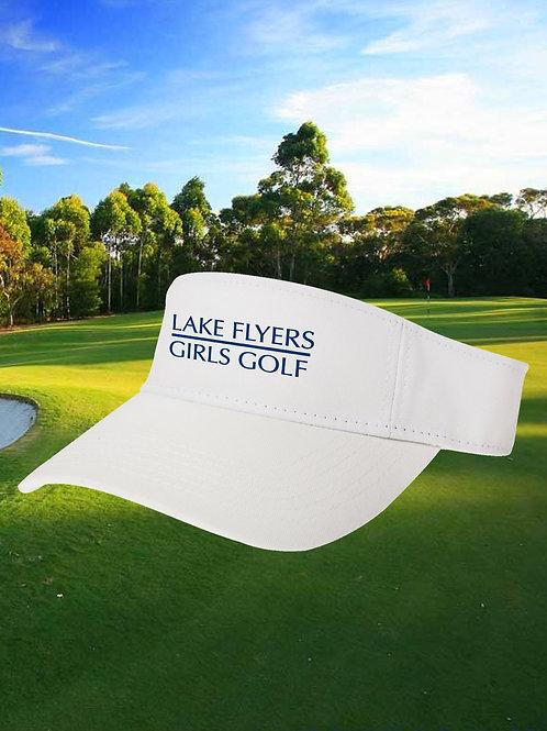 Lake Flyers Girls Golf - Embroidered Canvas Visor