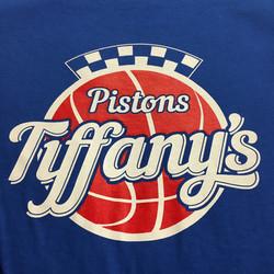 Tiffany's Pistons Inspired Logo