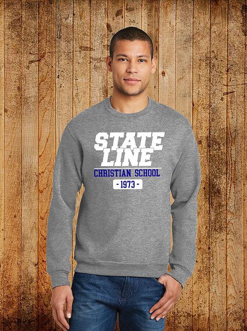 SLCS Spirit - Est. Logo Crewneck Sweatshirt