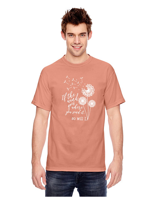 Comfort Colors Dandelion Short Sleeve Tee