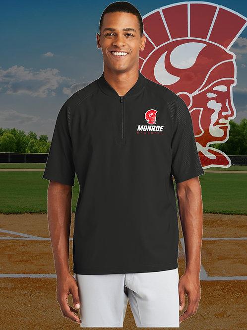 MHS Baseball - New Era® Cage Short Sleeve 1/4-Zip Cage Jacket