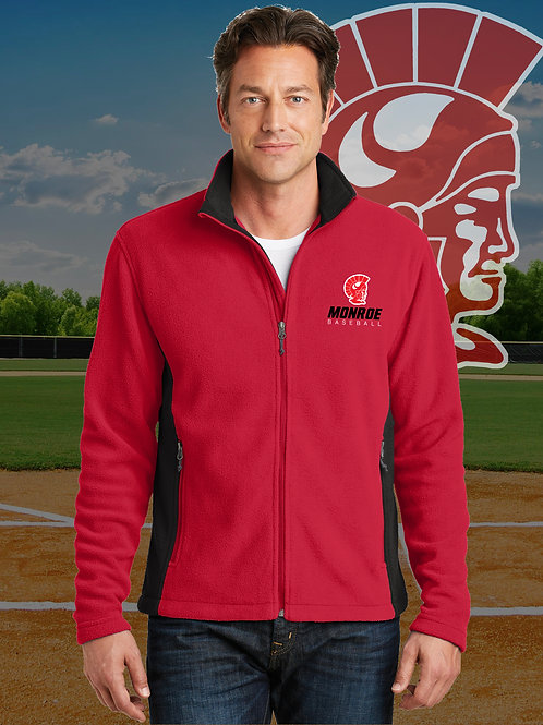 Monroe Baseball Embroidered Fleece