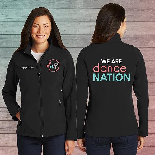 Dance Nation - Ladie's Softshell Jacket