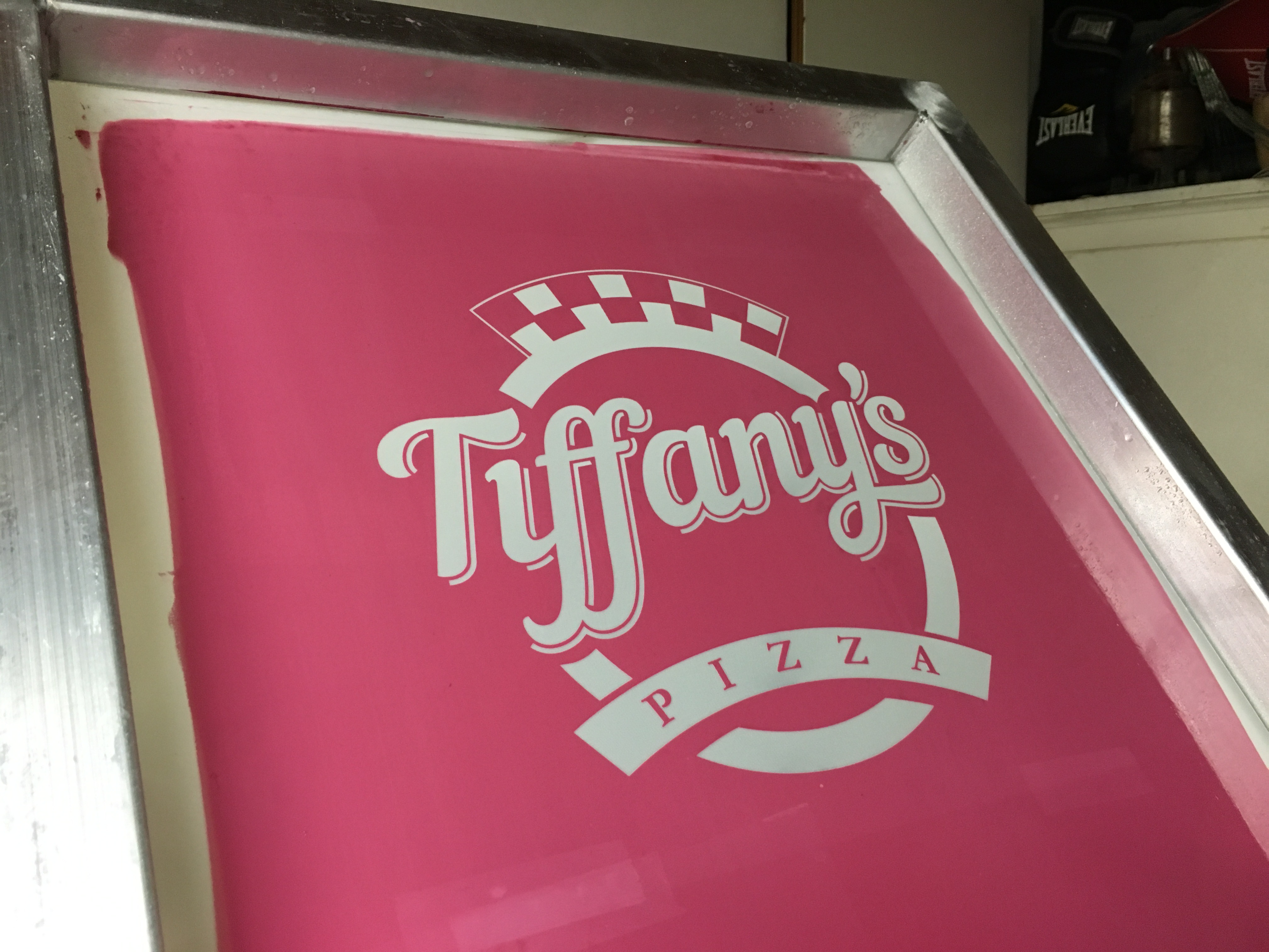 Tiffany's Screen Set-Up