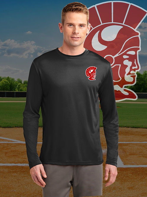 MHS Baseball - Long Sleeve Performance T-Shirt