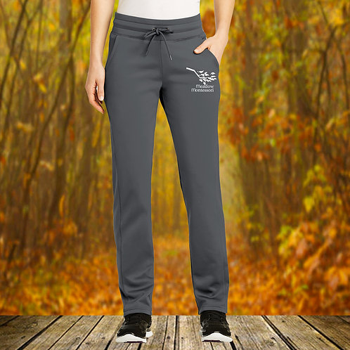 Ladies Sport Wick Performance Fleece Pants